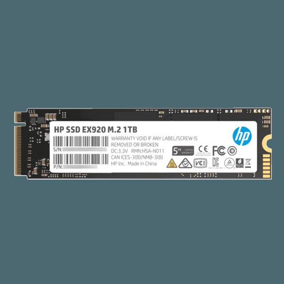 Unidad de Estado Sólido HP SSD M2 PCIE EX920 1TB