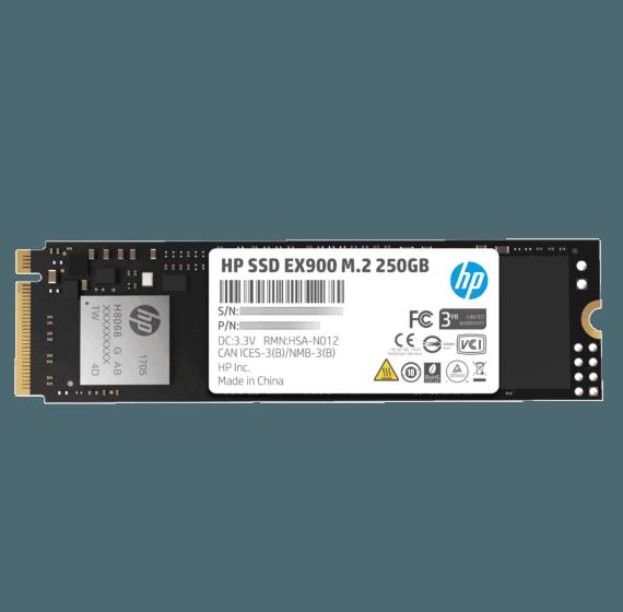 Unidad de Estado Sólido HP SSD EX900 M.2 250 GB