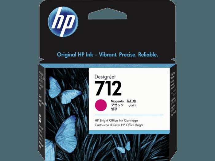 Cartucho de tinta HP DesignJet 712 de 29 ml, magenta