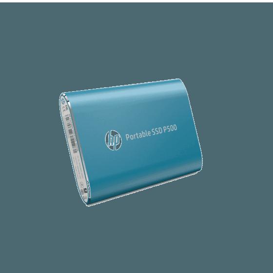 Unidad de Estado Sólido HP Portable P500 SSD-500G BLUE