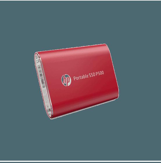 Unidad de Estado Sólido HP Portable P500 SSD-500G RED