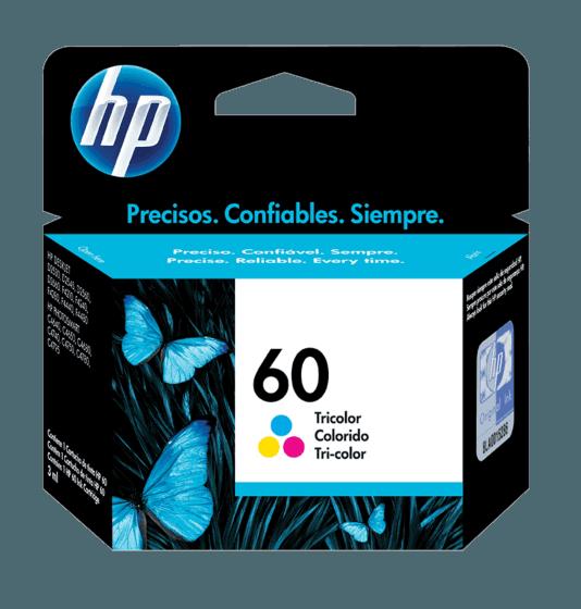 Cartucho de Tinta HP 60 Tricolor Original