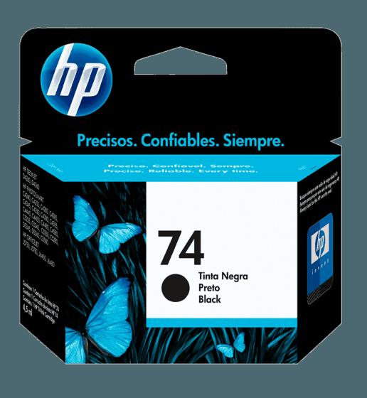 Cartucho de Tinta HP 74 Negra Original