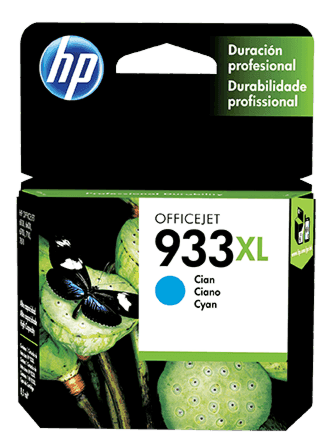 Cartucho de Tinta HP 933XL Cian Original