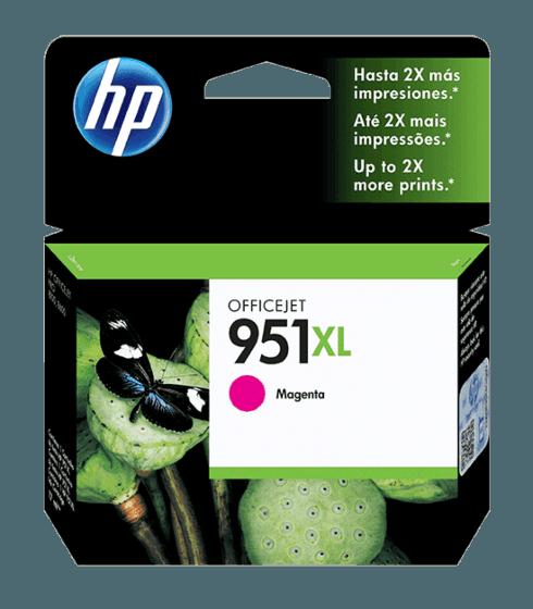 Cartucho de Tinta HP 951XL Magenta de Alto Rendimiento Original