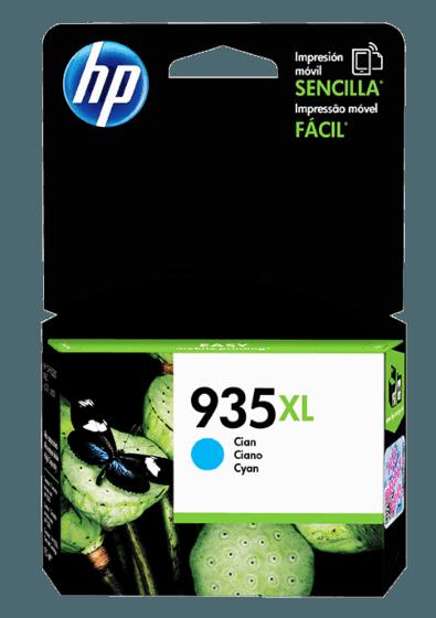 Cartucho de Tinta HP 935XL Cian de Alto Rendimiento Original