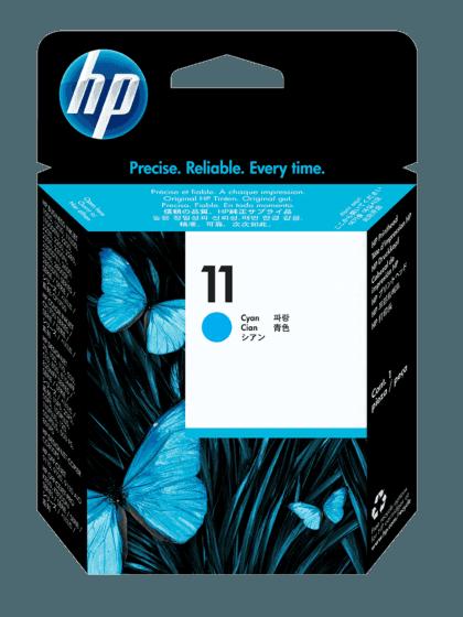 Cabezal de Impresión HP 11 Cian Original