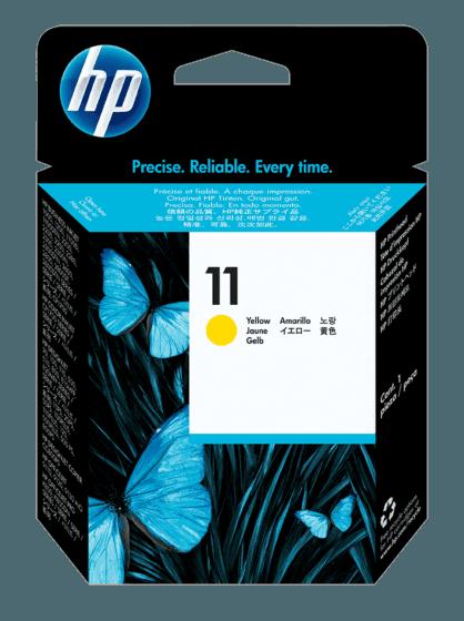 Cabezal de Impresión HP 11 Amarillo Original