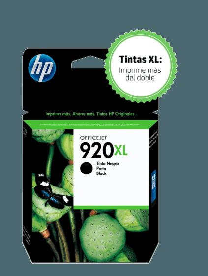 Cartucho de Tinta HP 920XL Negra Original
