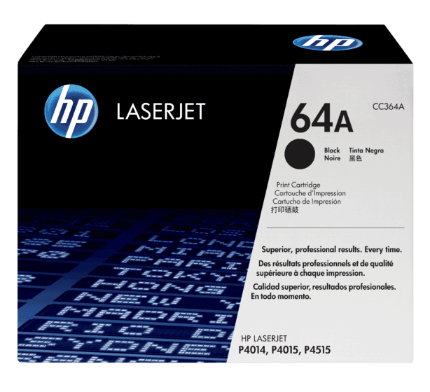 Cartucho de Tóner HP 64A Negro LaserJet Original