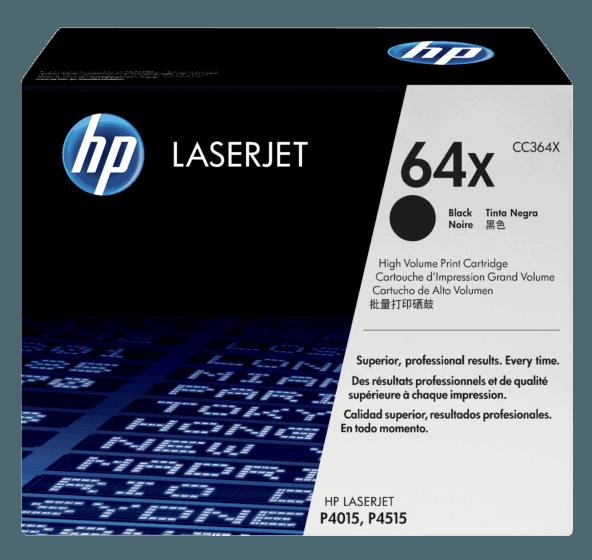 Cartucho de Tóner HP 64X Negro LaserJet de Alto Rendimiento Original