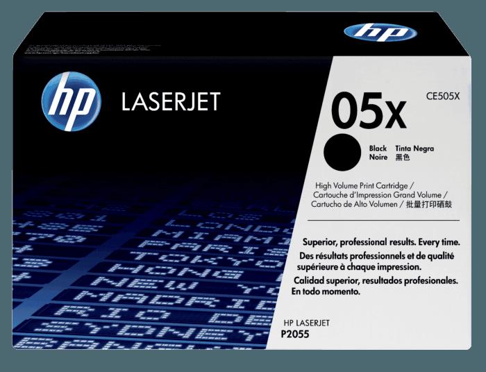 Cartucho de Tóner HP 05X Negro Alto Rendimiento LaserJet Original