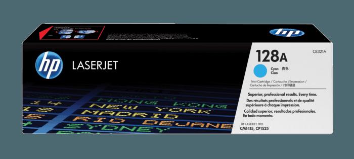 Cartucho de Tóner HP 128A Cian LaserJet Original