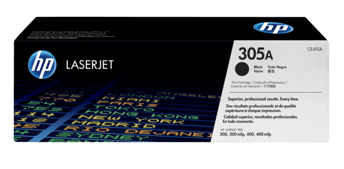 Cartucho de Tóner HP 305A Negro LaserJet Original