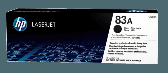 Cartucho de Tóner HP 83A Negro LaserJet Original