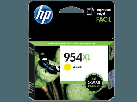 Cartucho de Tinta HP 954XL Amarilla Original
