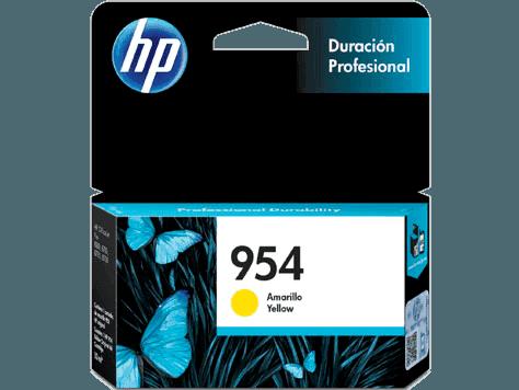 Cartucho de Tinta HP 954 Amarilla Original