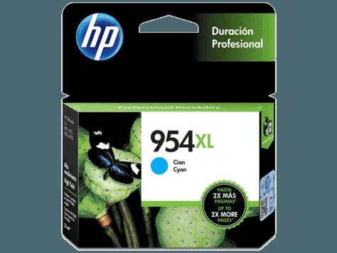 Cartucho de Tinta HP 954XL Cian Original