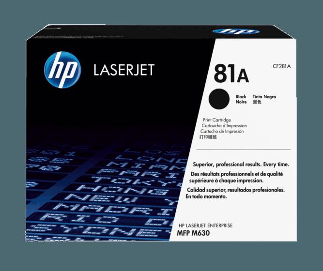 Cartucho de Tóner HP 81A Negro LaserJet Original