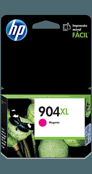 Cartucho de Tinta HP 904XL Magenta de Alto Rendimiento Original