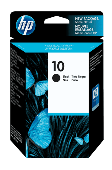 Cartucho de Tinta HP 10 Negra Original