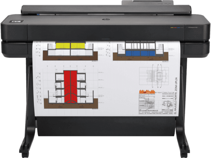 Impresora HP DesignJet T650 de 36