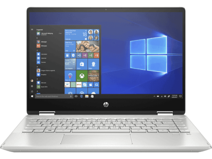 Notebook HP Pavilion x360 Convertible 14-dh0021la