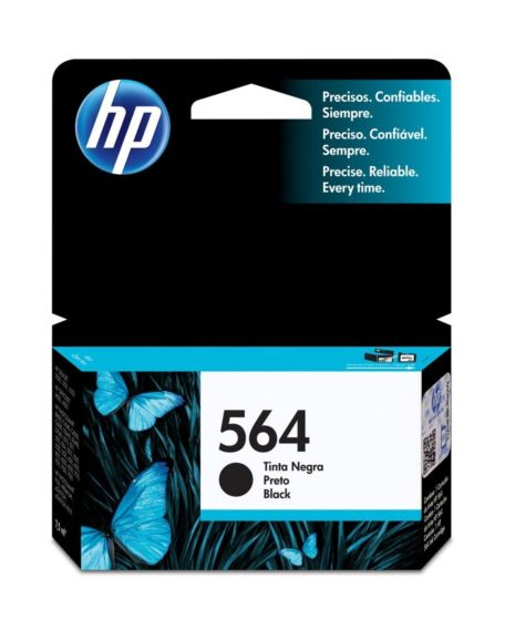 Cartucho de Tinta HP 564 Negra Original