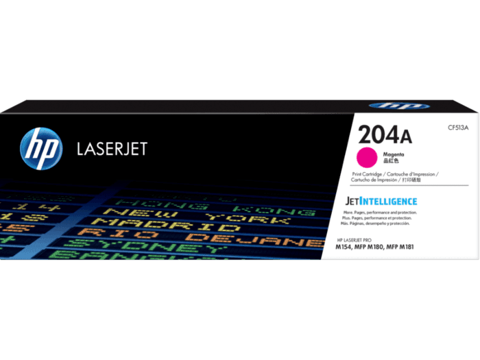 Cartucho de Tóner HP 204A Magenta LaserJet Original
