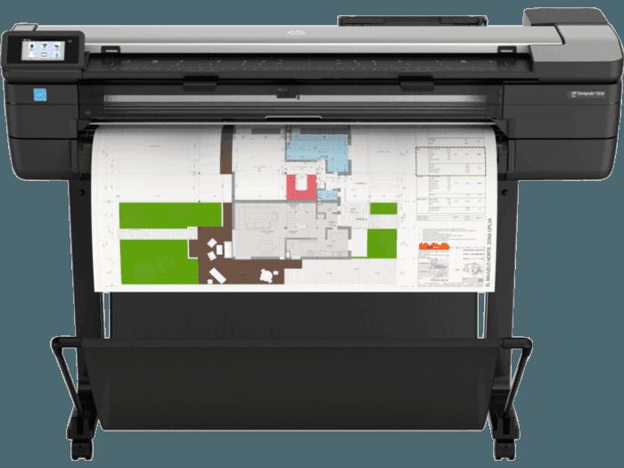 Impresora multifunción HP DesignJet T830 de 36 pulgadas