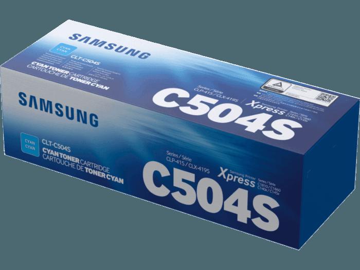 Cartucho de Tóner Samsung CLT-C504S Cian