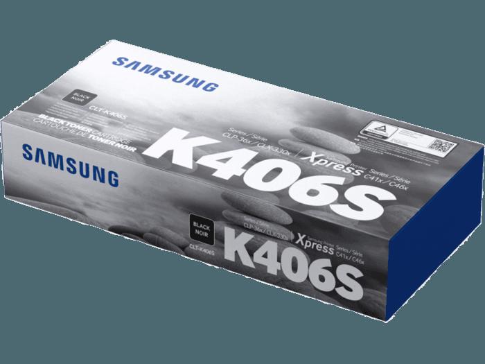 Cartucho de Tóner Samsung CLT-K406S Negro