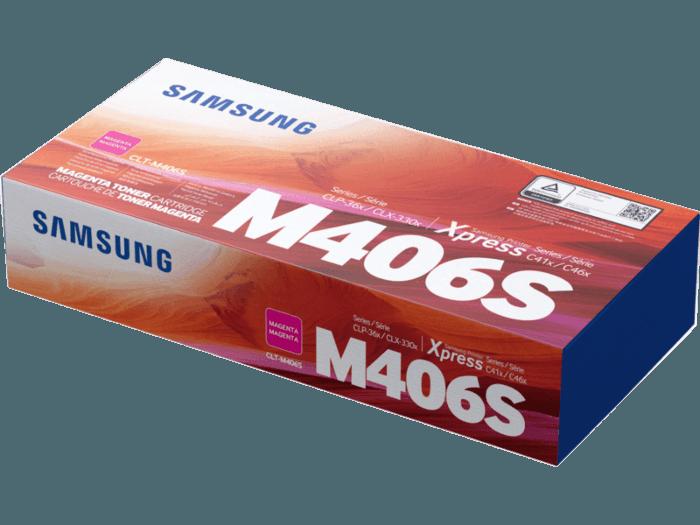 Cartucho de Tóner Samsung CLT-M406S Magenta