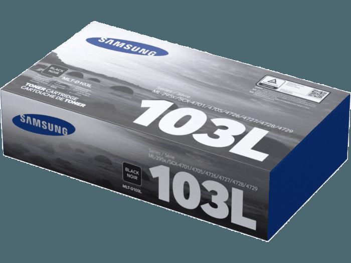 Cartucho de Tóner Samsung MLT-D103L Negro de Alta Capacidad