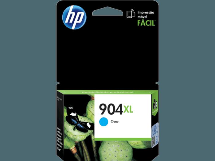 Cartucho original de tinta de alta capacidad HP 904XL cian