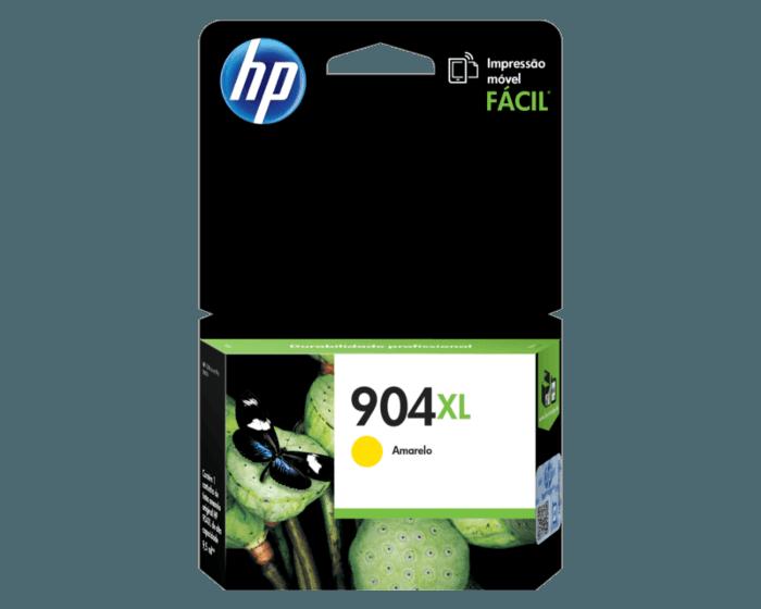 Cartucho de Tinta HP 904XL Amarilla de Alto Rendimiento Original