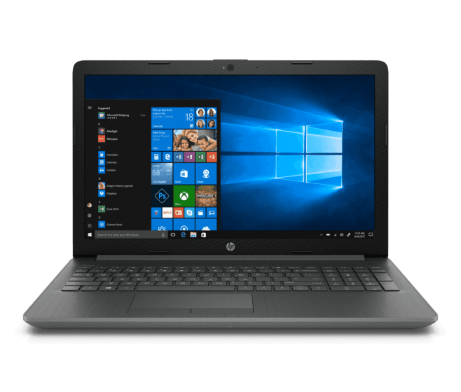 Notebook HP 15-da0055la