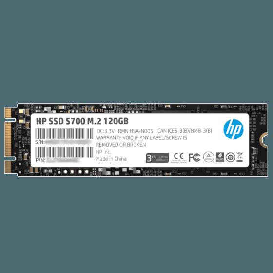 Unidad de Estado Sólido HP SSD 120GB S700 M2