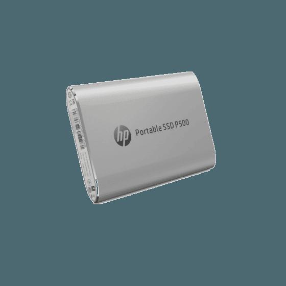 Unidad de Estado Sólido HP Portable P500 SSD-250G SILVER