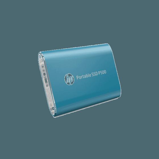 Unidad de Estado Sólido HP Portable P500 SSD-120G BLUE