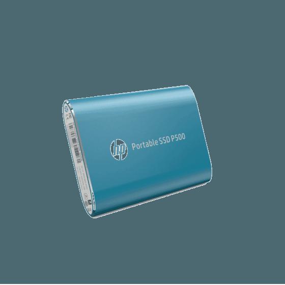 Unidad de Estado Sólido HP Portable P500 SSD-250G BLUE