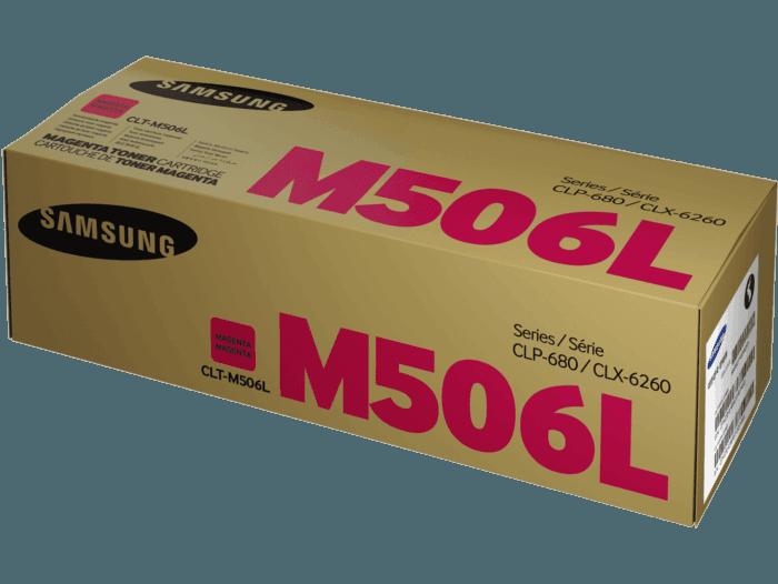 Cartucho de Tóner Samsung CLT-M506L Magenta de Alta Capacidad