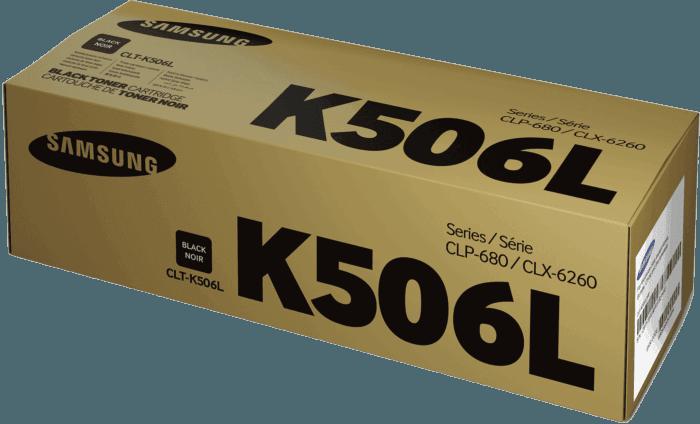 Cartucho de Tóner Samsung CLT-K506L Negro de Alta Capacidad