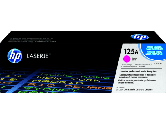 Cartucho de Tóner HP 125A Magenta Laserjet Original