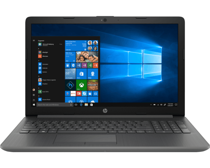 Notebook HP 15-da0060la