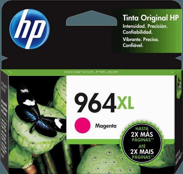 Cartucho de Tinta HP 964XL Magenta de Alto Rendimiento Original