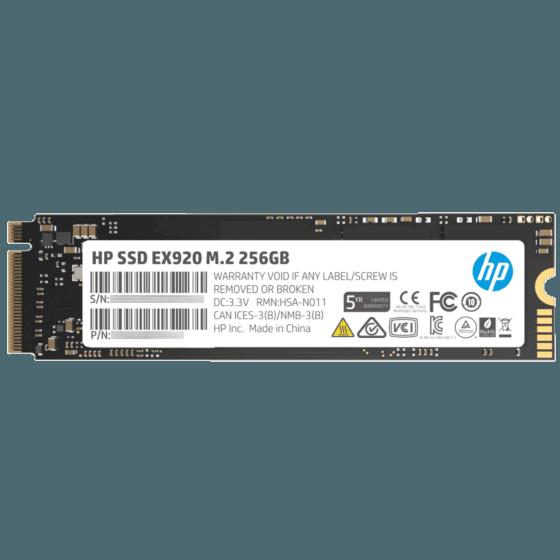 Unidad de Estado Sólido HP SSD EX920 M.2 256 GB