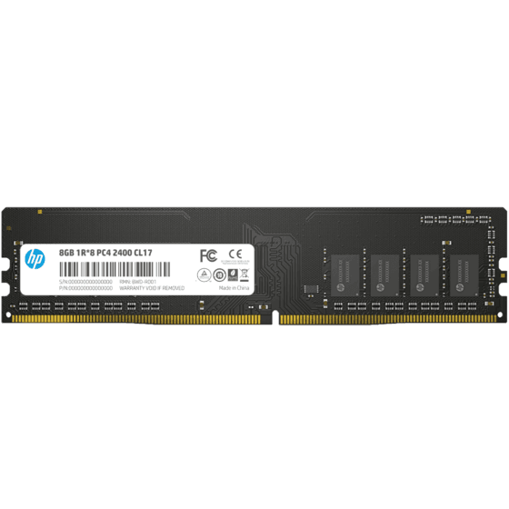 Memoria PC HP V2 DDR4 8GB 2400MHz CL17 UDIMM