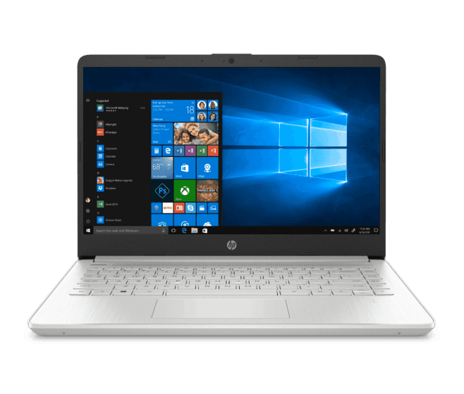 Notebook HP 14-dq1019la