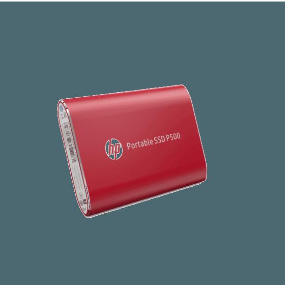 Unidad de Estado Sólido HP Portable P500 SSD-120G RED